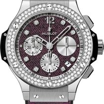 Hublot [NEW] Big Bang Purple Jeans Diamonds (Retail:EUR 17000)