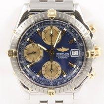 Breitling Chronomat GT Chronograph Stahl Gold Stahlband...