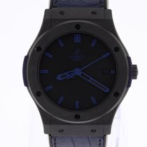 Hublot Classic Fusion All Black Blue Automatic