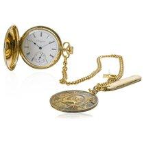 Elgin Men's Vintage 1930s Elgin Pocket Watch 14K Gold with...