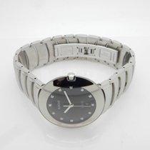 Rado Jubile DiaStar S. Steel Black Diamond Dial Date 129.0531.3