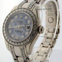 Rolex Pearlmaster 18k White Gold & Diamond Ladies Watch...