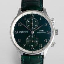 "IWC Portuguese Chronograph ""Boris Becker Limited Edition"""