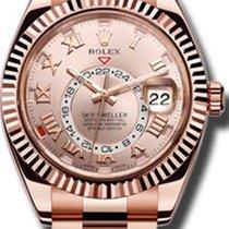 Rolex rose gold skydweller
