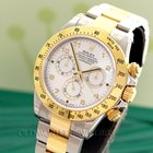 Rolex Daytona Steel and Gold Mother of Pearl 116523