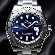 Rolex NEW Yacht Master Steel & Platinum Blue Dial(Retail:H...