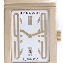 Bulgari Rettangolo Men's/Ladies 18k Yellow Gold Automatic...