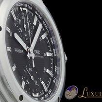 IWC Ingenieur Chronograph Schwarzes Zifferblatt
