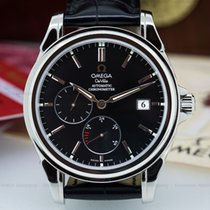 Omega Co Axial Power Reserve SS / Leather