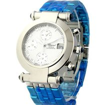 Chopard 37/8210-23 Imperiale Chronograph in Steel - Steel on...