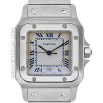 Cartier stainless steel medium Santos Galbee