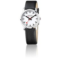 Mondaine Montre Simply Elegant Black Polished 36 mm