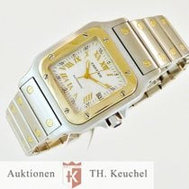 Cartier Santos Galbee Gold Stahl Automatic