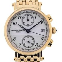 Frederique Constant Classics Chronograph 34 Gold plated