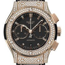 Hublot Classic Fusion Chronograph King Gold Pavé 45 mm