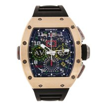 Richard Mille Flyback Chronograph Dual Time Rose Gold Watch