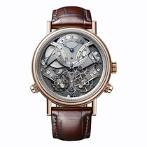 Breguet Rose Gold Tradition Chronograph Manual Wind 44mm...
