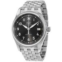 IWC Pilot Automatic  Slate Grey Dial Mens Watch IW324002
