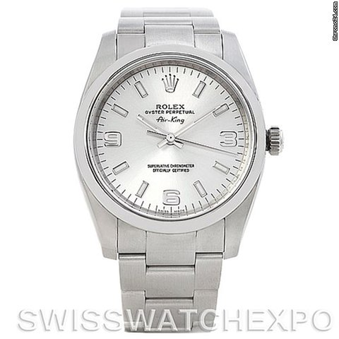 Rolex Oyster Perpetual Air King Men's Watch 114200