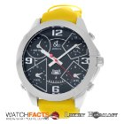 Jacob & Co. Authentic New  JC2 Five 5 Time Zone 47m...