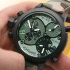 Welder K29-8004 Triple Time Zone Chronograph