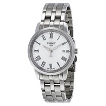 Tissot T-Classic Dream White Dial Stainless Steel Men's Watch
