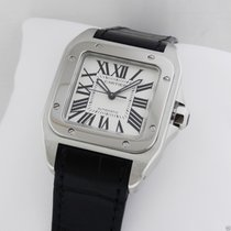 Cartier Santos 100 Stainless Steel Medium Automatic