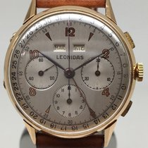Leonidas Triple calendar chronograph oversize Pre Heuer