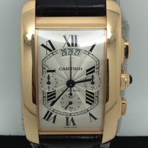 Cartier 18k RG American Tank XL Automatic Chronograph
