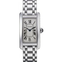 Cartier Tank Americaine Ladies' Watch 18K White Gold...