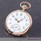 Glashütte Original J. Assmann 14k Rosé Gold Taschenuhr Lepine ...
