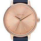 Nixon The Kensington Leather Rose Gold/Navy A108-2160