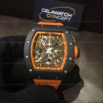 Richard Mille RM011 Orange Storm Flyback Chronograph Limited...