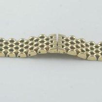 Maurice Lacroix Damen Stahl Armband 15mm Vergoldet