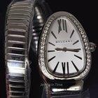 Bulgari NEW  Serpenti Steel & Diamond Ladies Watch...