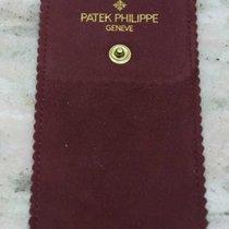 Patek Philippe VINTAGE 1970's burgundy LEATHER SERVICE POUCH