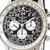 Breitling Navitimer Cosmonaute Steel Hand-winding Watch A12022...