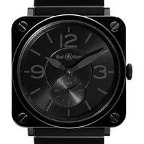 Bell & Ross BRS Black Ceramic Phantom Bracelet