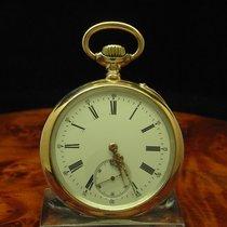 IWC 800 Silber / Gold Mantel Open Face Taschenuhr Von Ca. 1896...