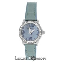 Corum New Ladies  Bubble  101.151.47 Diamond Stainless Steel MOP