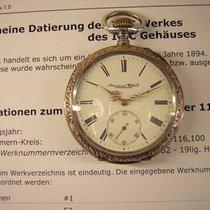 IWC Sehr schöne  vintage Taschenuhr im verzierten Silbergehäuse