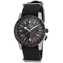 Glycine Airman Base 22 Automatic Black Dial Men's Watch