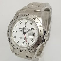 Rolex Explorer II Mens Steel 40mm Watch, 2004