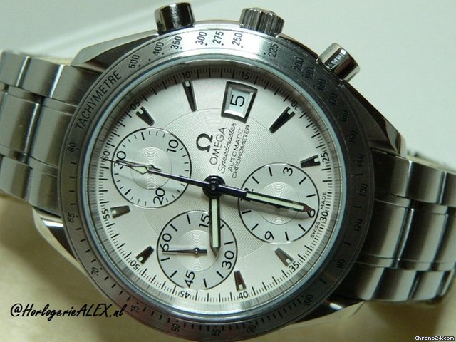 Omega Speedmaster Chronometer Date