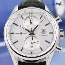 TAG Heuer Men's Carrera Carrera Cal. 1887 Steel on Leather...