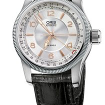 Oris Big Crown Pointer Date, Guilloche Dial, Leather