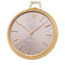 Rolex 18K Gold 3717 Cellini Pocket Watch