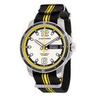 Chopard G.P.M.H. Snail Grey Dial Black and Yellow Nylon...
