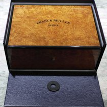 Franck Muller wooden box very important newoldstock