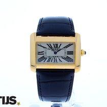 Cartier Divan Large 18 krt gold watch